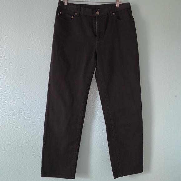 Lauren Ralph Lauren Black Jeans Classic Fit